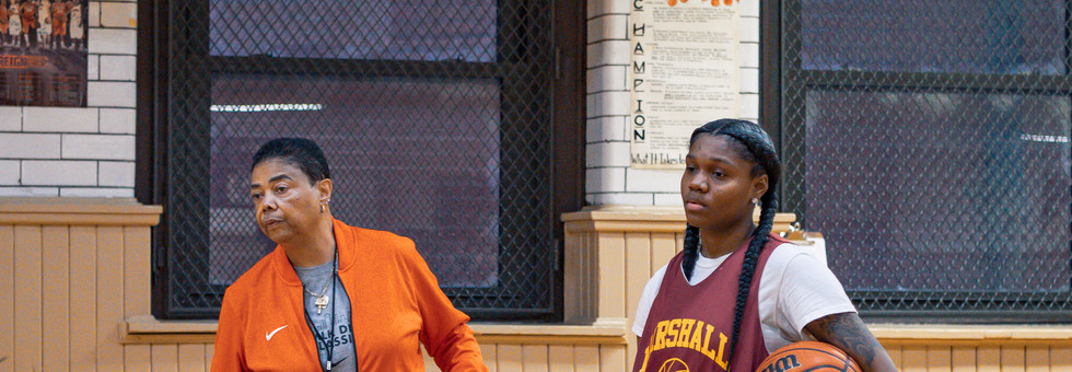 Candace Parker x Dorothy Gaters