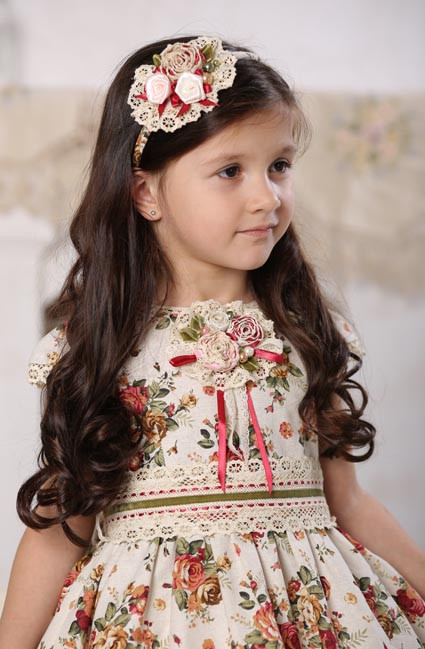 Платье букет для девочки