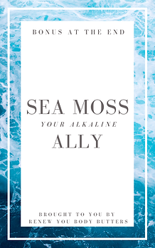 Sea Moss - Your Alkaline Ally Book Cover