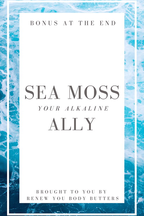 Alkaline Sea Moss eBook