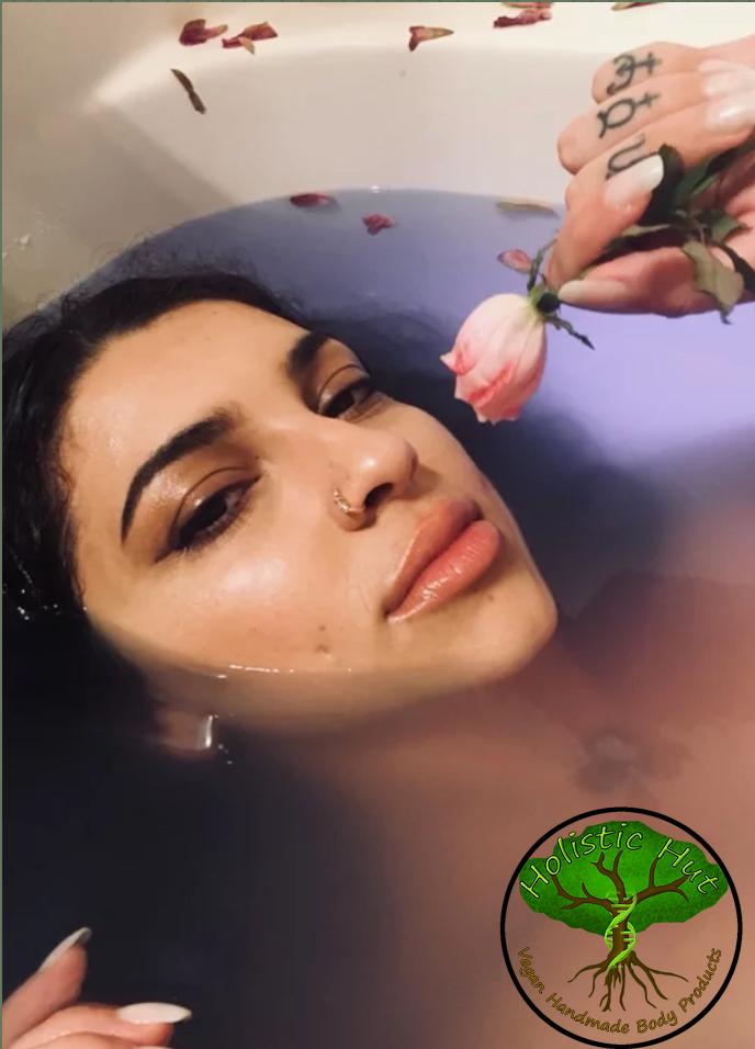 Rose water bath