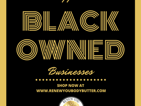 Now is the time to support black-owned businesses.