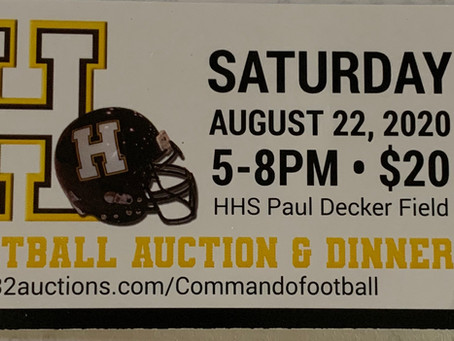 HHS Football Dinner and Online Auction