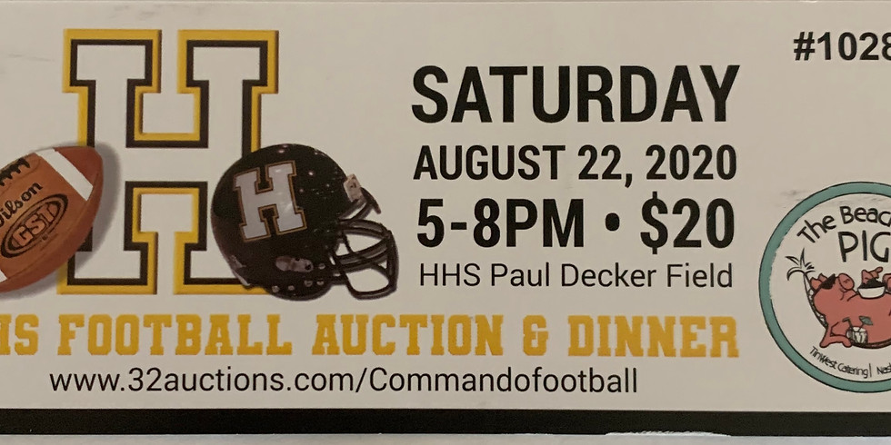 HHS Football Online Auction and Dinner