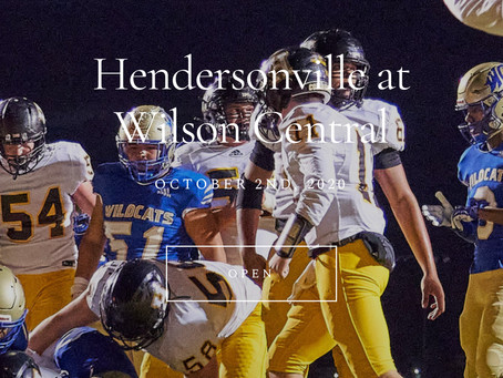 HHS vs Wilson Central Pictures