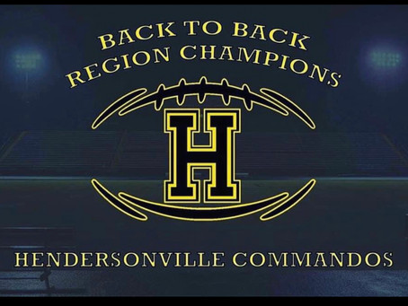 Commandos 2020 Region 4 6A Champs