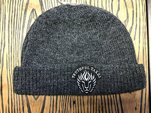 Winter Hat Charcoal Gray