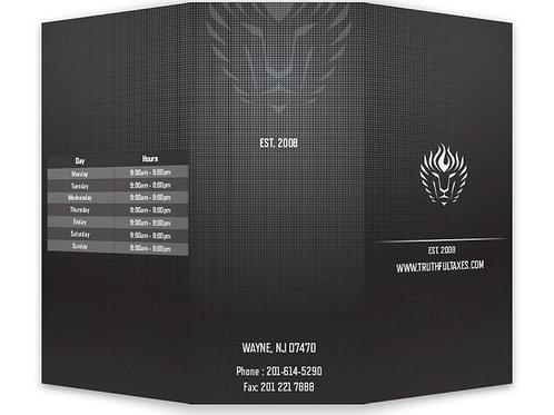 "TRUTHFUL TAXES 8.5"" x 11"" Tri-fold Brochure Binder"