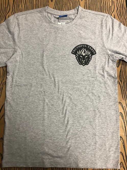 Gray TRUTHFUL TAXES T Shirt