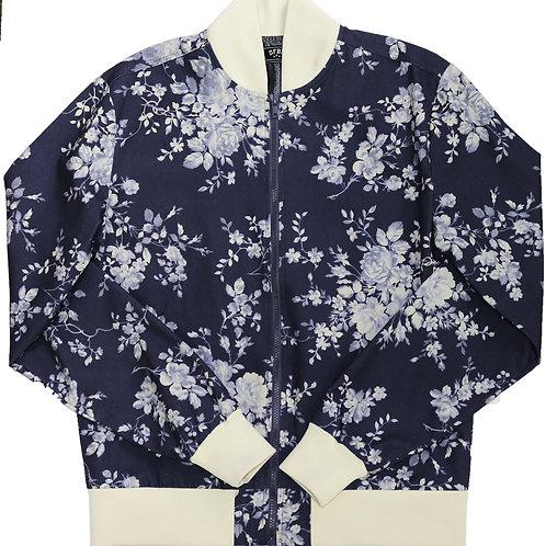 Navy Floral Jacket