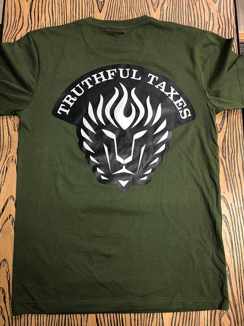 Hunter Green TRUTHFUL TAXES T Shirt