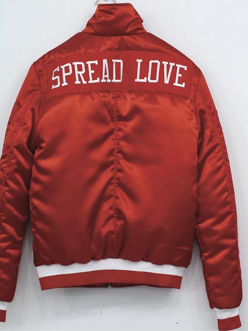 Spread Love Bomber Jacket