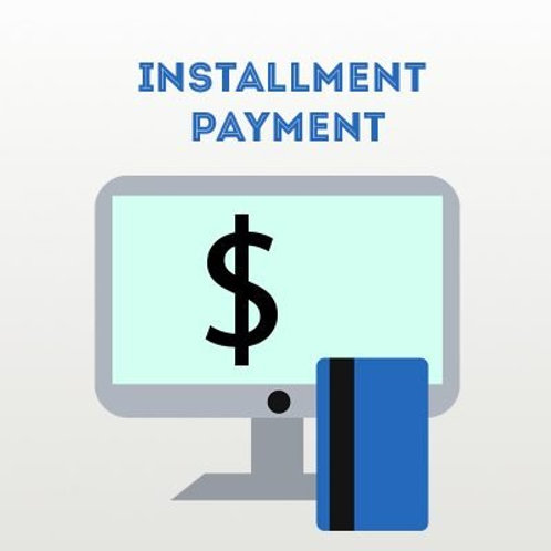 Initiation Set Up Fee Payment Plan