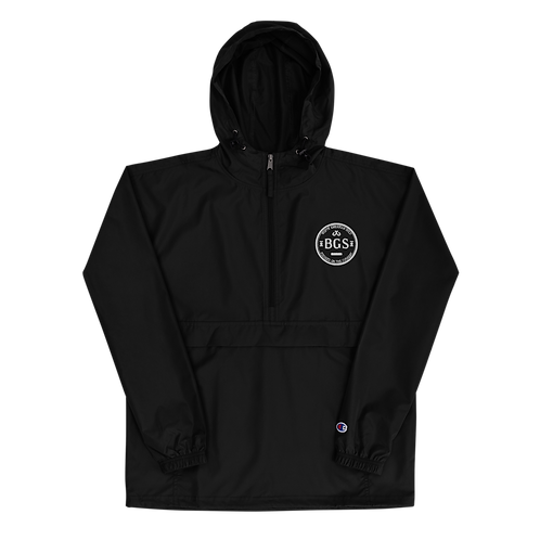 BGS Logo Embroidered Champion Packable Jacket