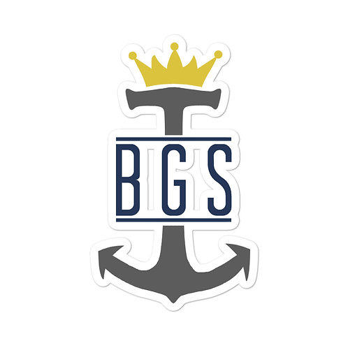 BGS Anchor Sticker 5.5x5.5