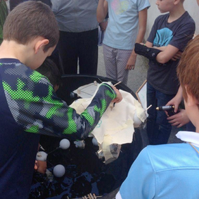Go With the Flow: Bethlehem Elementary School's Watershed Unit