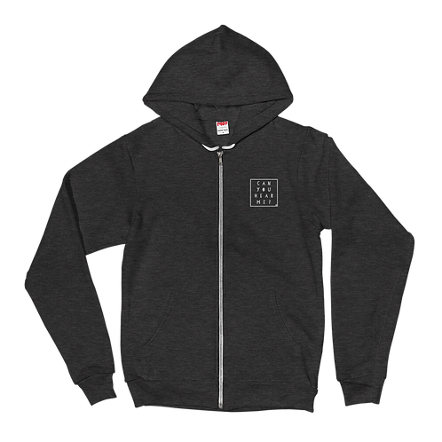 Classic Logo Embroidered Zip Up