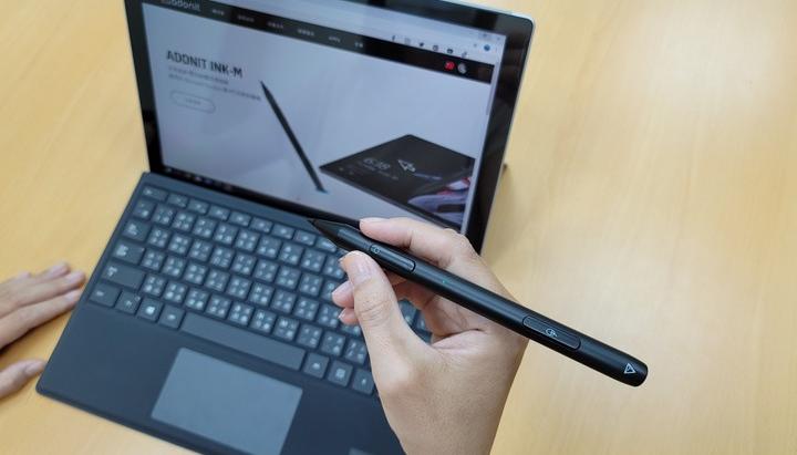 全球首創「Adonit INK-M 雙效能觸控滑鼠筆」是觸控筆也是滑鼠,給你的Surface平板更靈活全面的應用