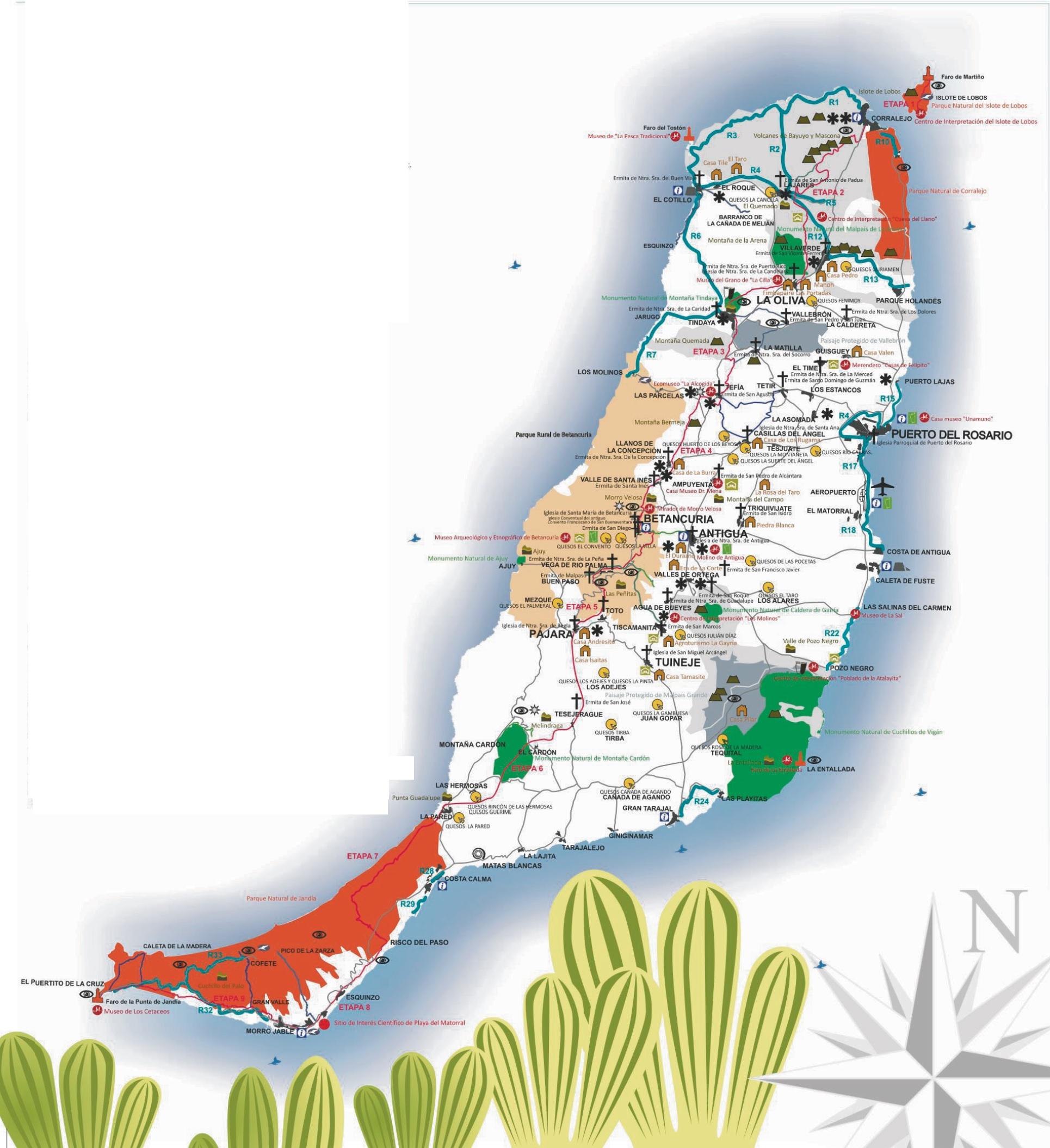 mapa ftv web