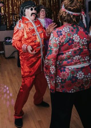 Retro dancing!