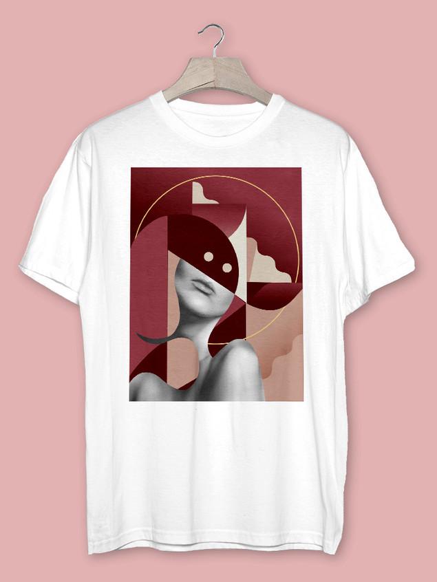 T-Shirt Ivresse Moderne