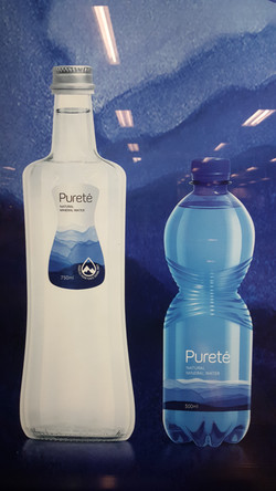 Purete Water at MRT station