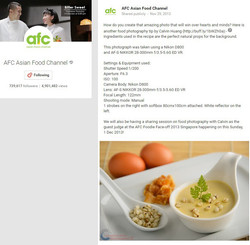 Asia Food Channel Writeup