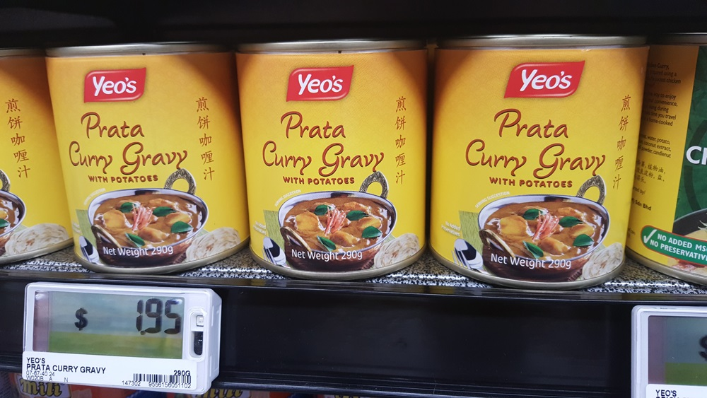 Yeo's Prata Curry Gravy