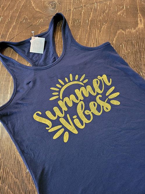 Summer Vibes Ladies' Tank