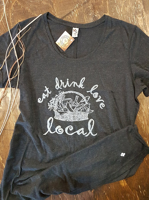 Eat Drink Love Local T-Shirt