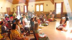 Acharya Shunya Teaching Meditation