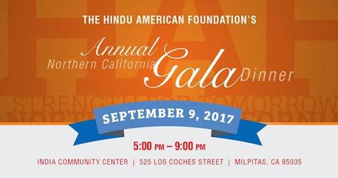 Hindu American Foundation Annual Northern California Gala Dinner