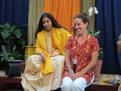 Acharya Shunya and Student