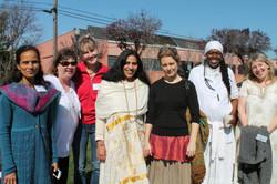 Acharya Shunya and Students