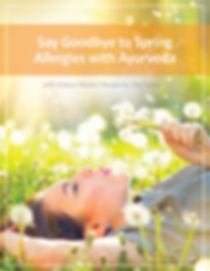 sprig allergies with ayurveda