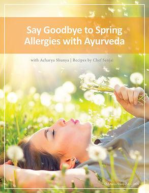 sprig allergies with ayurveda