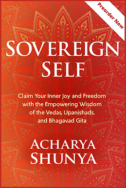 SOVEREIGN SELF BOOK COVER WITH PREORDER