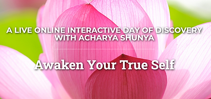 Awaken Your True Self - A Live Online Interactive Day of Discovery with Acharya Shunya