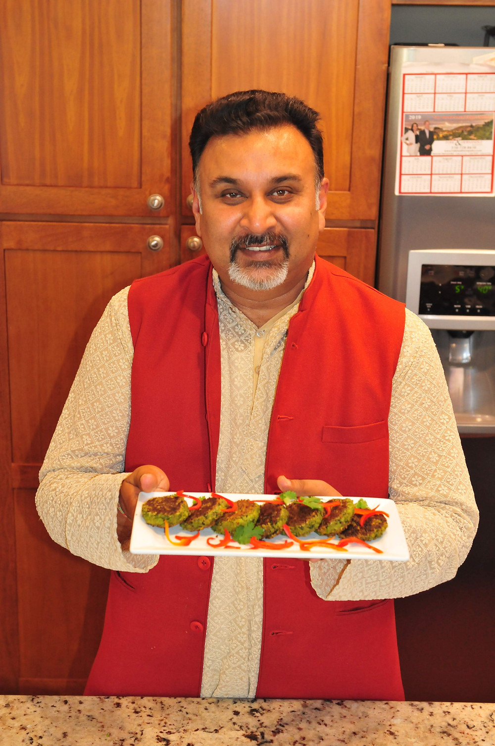 chef sanjai, vegetarian kebabs recipe