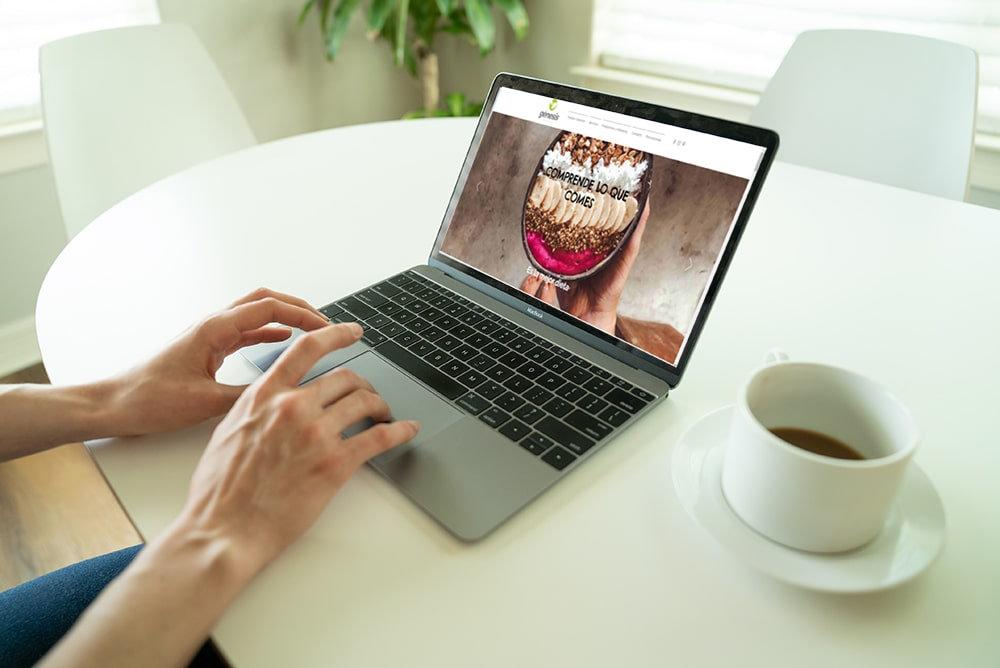 Nutrición en línea