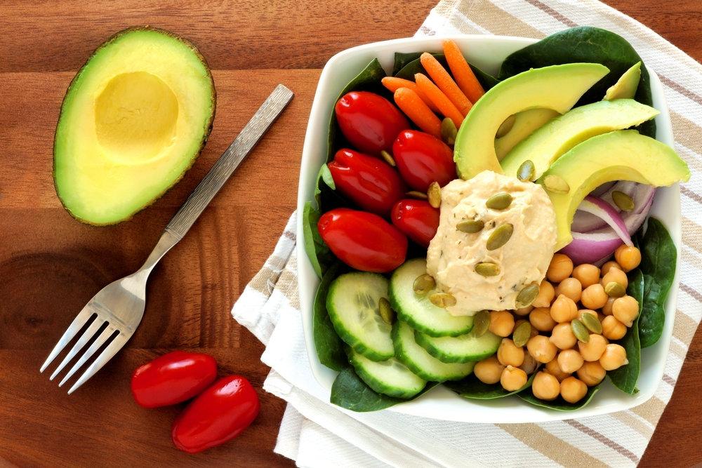 Nutrición para vegetarianos y veganos