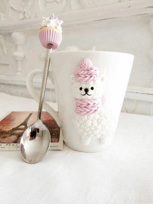 "Handmade Tasse ""Lovely"" in Geschenkverpackung"