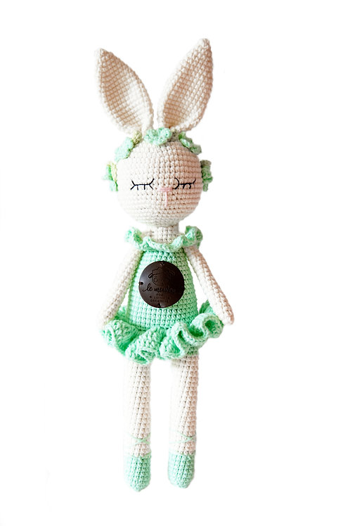 Handmade Kuscheltier - Ballerina Nadine - in Geschenkverpackung