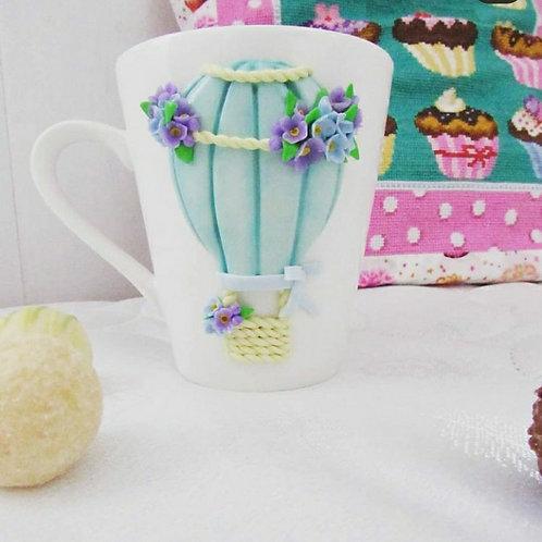 "Handmade Tasse ""Balloon"" in Geschenkverpackung"