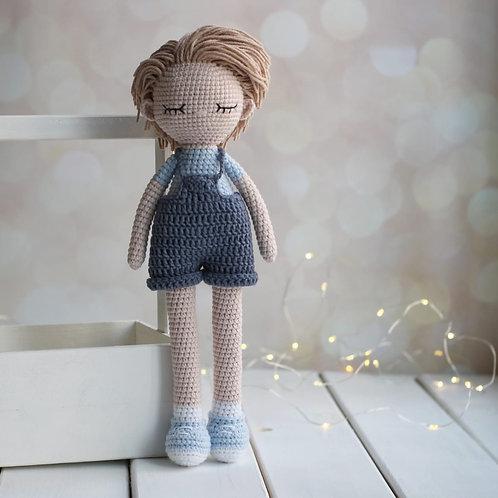 Handmade Puppe Jean - in Geschenkverpackung