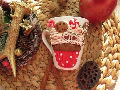 """Handmade Tasse """"Sweet dreams"""" in Geschenkverpackung"""