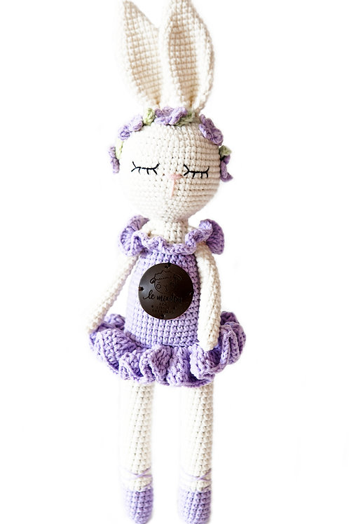 Handmade Kuscheltier - Ballerina Matilde - in Geschenkverpackung