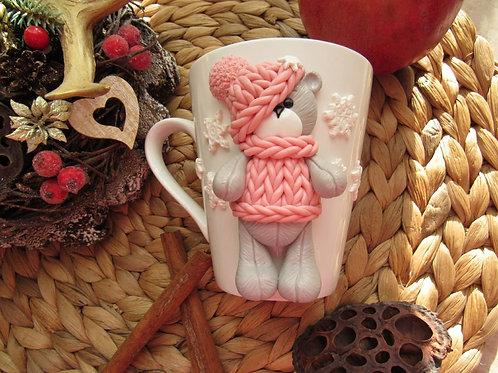 "Handmade Tasse ""My lovely teddy bear"" in Geschenkverpackung"