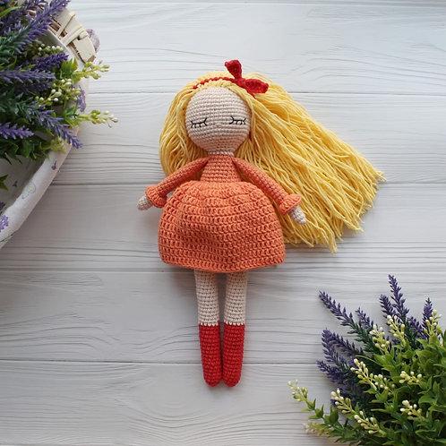 Handmade Puppe Annette - in Geschenkverpackung