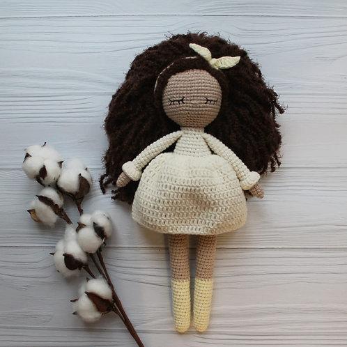 Handmade Puppe Janette - in Geschenkverpackung